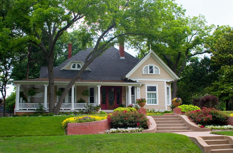 Дома в американском стиле фото