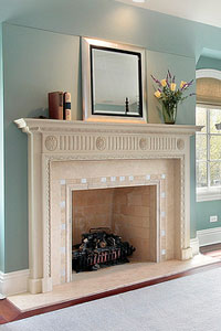 Marble Fireplace Louisville KY