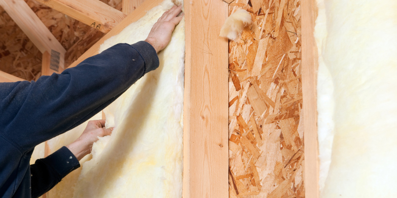 Batt Insulation in Haslet, Texas