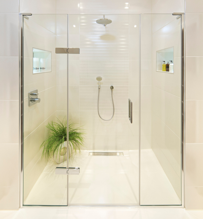 Glass Shower Doors in Johnson City, Tennessee