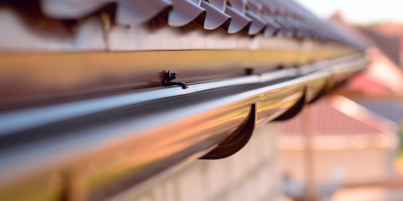 Seamless Gutters in Johnson City, Tennessee