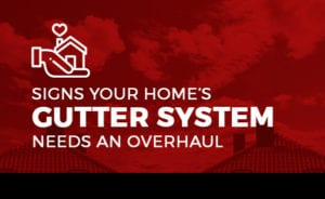Signs Your Home's Gutter System Needs an Overhaul [infographic]