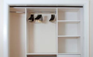 install closet organizers in your home