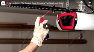 31-W Insulation: The Garage Door Problem Solvers