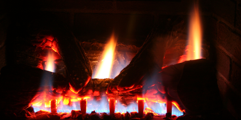 Gas logs are a great solution to using less electricity