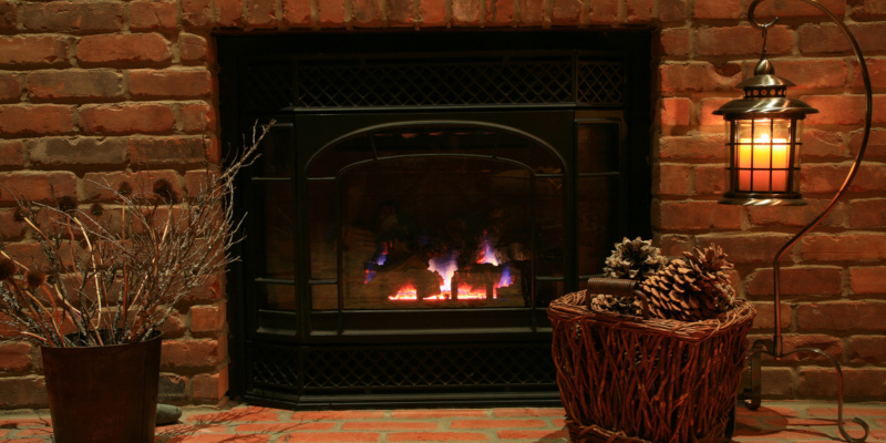 gas fireplaces really are the fun way to improve the heating efficiency
