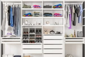 Closet systems are a great way to get that beautiful